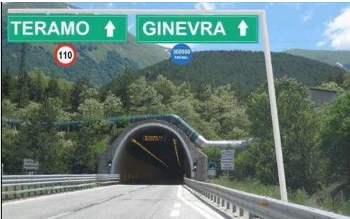 Grave Incidente nel tunnel Gelmini Gran Sasso - Ginevra