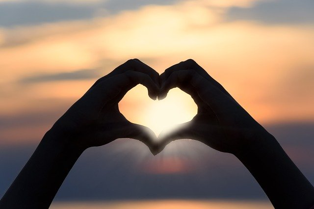 San Valentino al tramonto